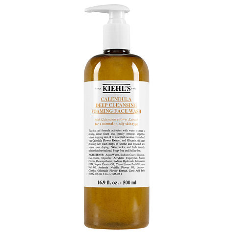 KIEHL'S | Deep cleansing foaming face wash 500ml
