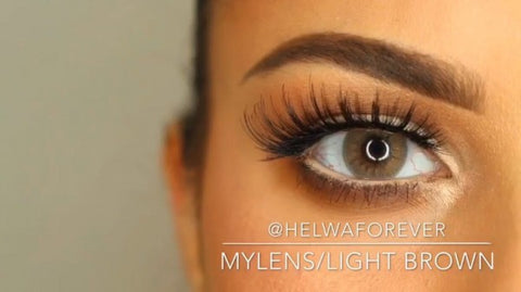 **NEW My Lens Contact Lenses | Light Brown