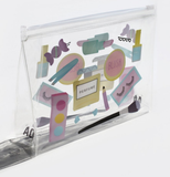 AOA | Clear Makeup Pouch - Beauty Kit