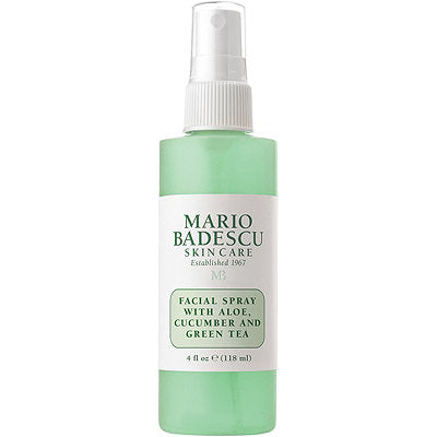 **NEW mario badescu | FACIAL SPRAY WITH ALOE, CUCUMBER AND GREEN TEA