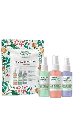 **NEW Mario Badescu | FACIAL SPRAY TRIO TRAVEL EDITION