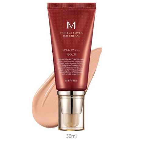 Missha | M Perfect Cover BB Cream SPF 42 PA+++(50ml)