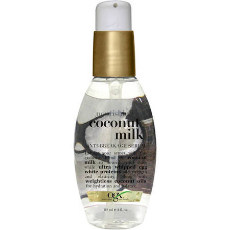 **NEW OGX Nourishing + Coconut Milk Anti-Breakage Serum 118ml
