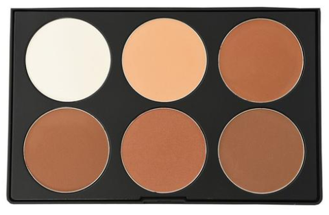 Kara Beauty | PC13 - 6 color Powder Contour