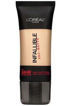 L'Oreal Paris Infallible Pro-Matte Up to 24 Hr Demi-Matte Finish Foundation 1.0 fl oz