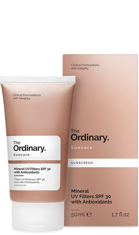 The ordinary | Mineral UV Filters SPF 30 with Antioxidants 50ml