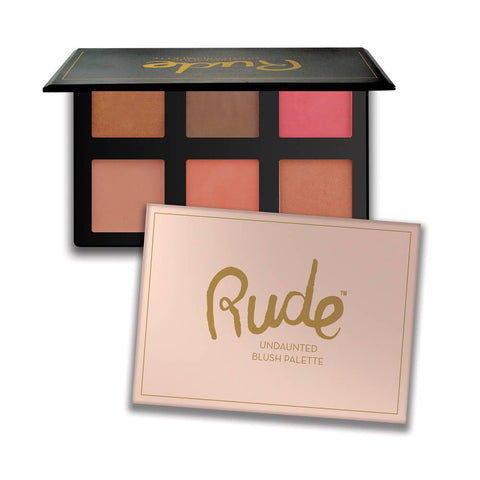 Rude Cosmetics | Undaunted Blush palette