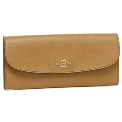 Coach women wallet (Soft Brown)