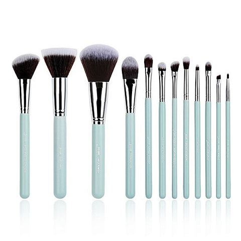 Jessup | Brush set T086 12pcs (Blue\Silver)