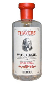 Thayers | Witch Hazel Aloe Vera Formula Alcohol-Free Toner -Rose Petal-12 fl oz