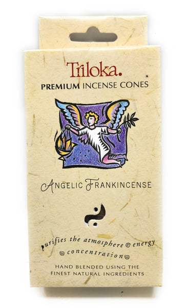 Angelic Frankincense - Triloka Cone Incense