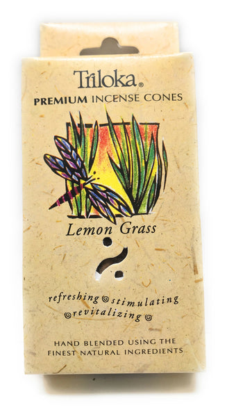 Lemongrass - Triloka Cone Incense