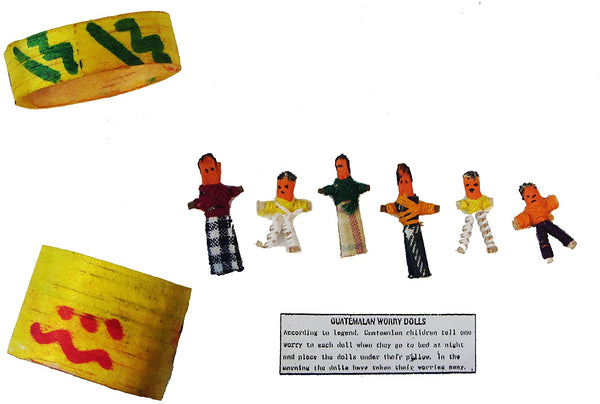 Guatemalan Worry Dolls in a Box