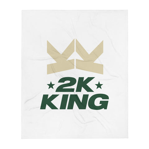 2K KING - MILW - Throw Blanket