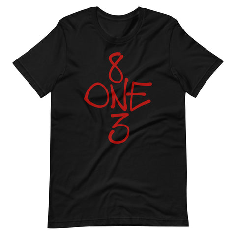 8 ONE 3 Tee - Red