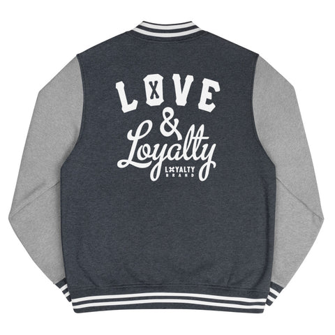 LOVE & LOYATY Men's Letterman Jacket