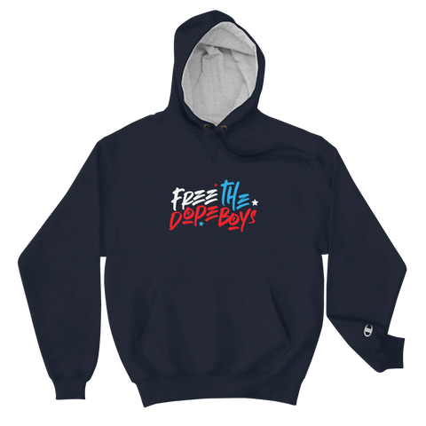 Free The Dope Boys! Champion Hoodie