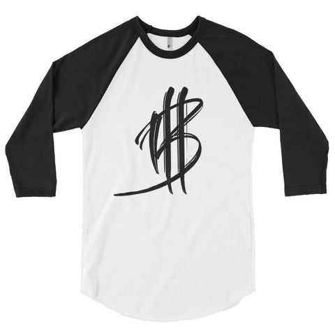 BANK 3/4 sleeve raglan shirt