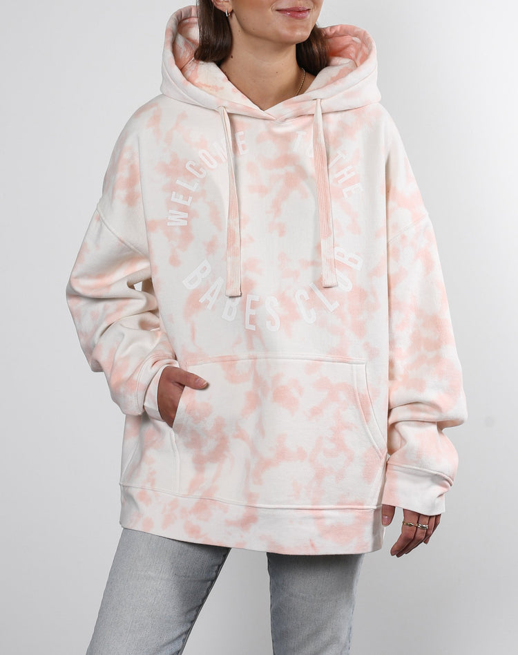 Brunette the Label Marble Big Sister Hoodie