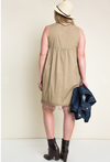 Hayden PLUS Woven Trapeze Dress