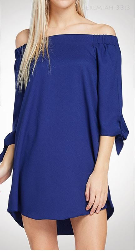 Rosetta off the Shoulder Dress