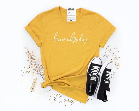 Blonde Ambition HOMEBODY Tee