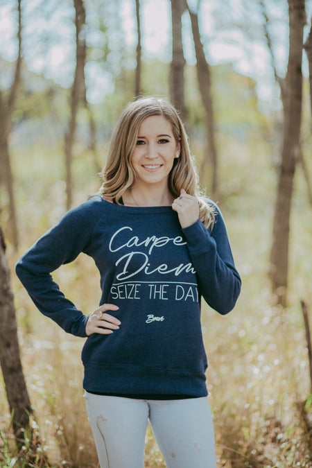 Authentic Brave Apparel Carpe Diem Crew