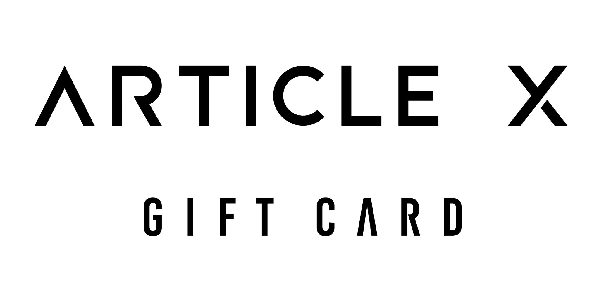 The Article X Gift Card
