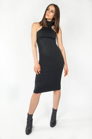 The Racer Front Midi Dress