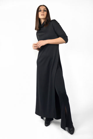 The Slit Maxi Top