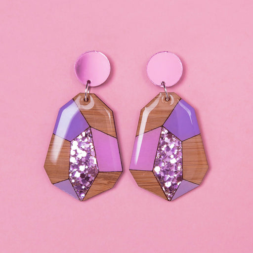 Geo Glam - Lilac & Pink