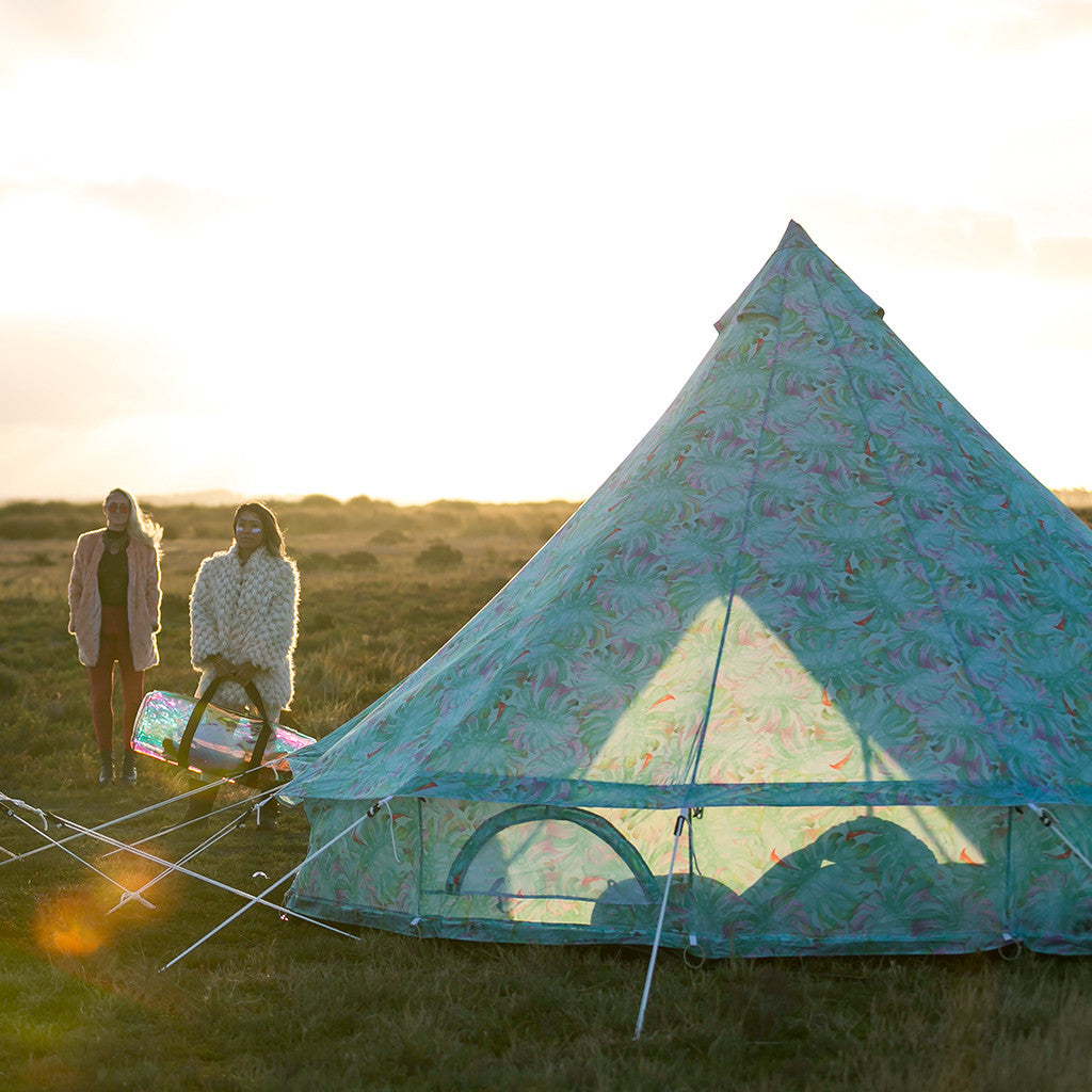 Camping Tent - Cosmic Romance Camping