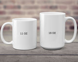 The Love Between Mother and Daughter or Son Knows No Distance State to State Mug Mother's Day Gift