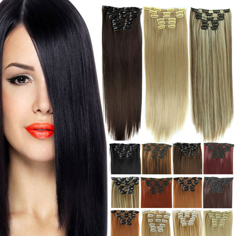Long straight hair extensions 23 inch length avocado clothes long straight hair extensions 23 inch length pmusecretfo Choice Image