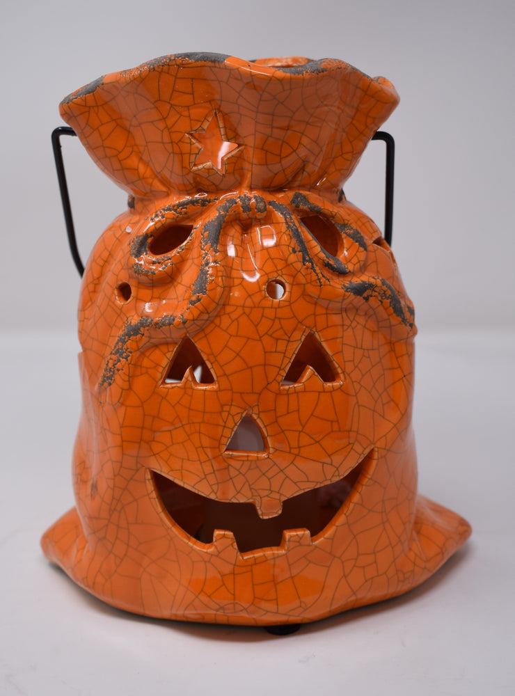 Halloween Face Ceramic Lamp