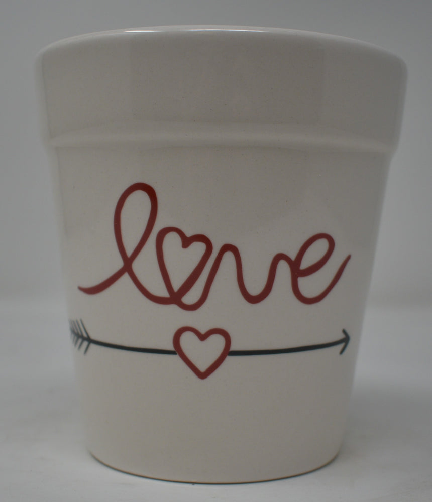 Love Ceramic Planter