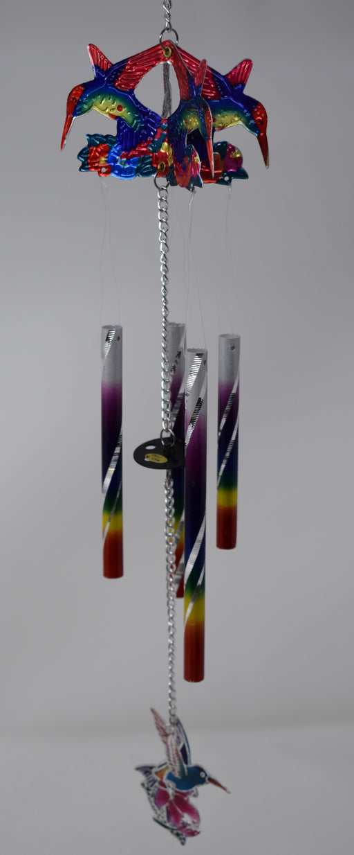 Rainbow Laser-Cut Windchime