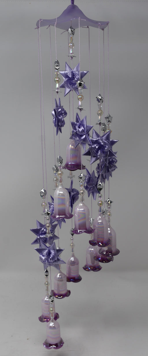 Purple Wrap-Around Windchime