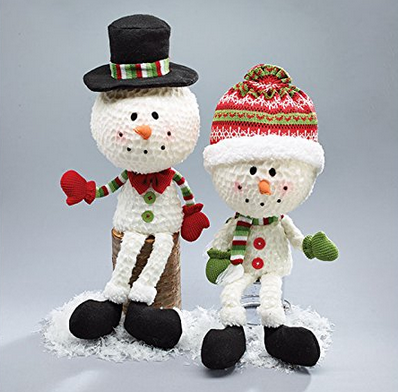 Christmas - Large Foam Head Snowman Décor - Findlavender