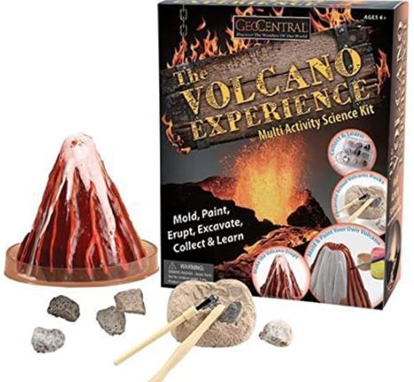 The Volcano Experience -This Multi-activity Kit Has Enough to Keep Anyone Interested in Volcano's Busy