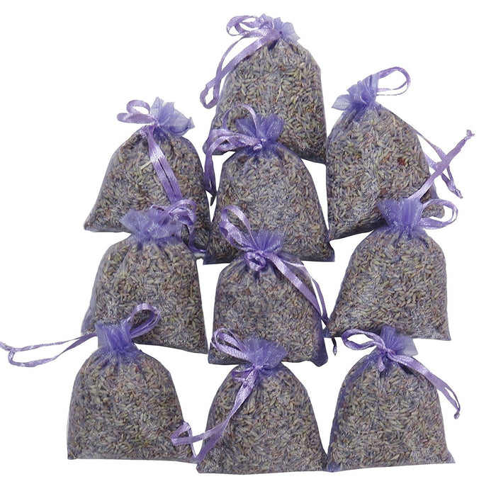 Lavender Sachets - 10 Bags Pack