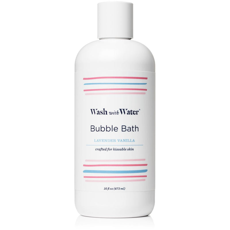 Wash With Water Bubble Bath, Lavender Vanilla