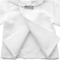 Linen Blouse, White