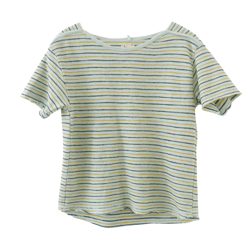 Frances Stripe Tee, Mint