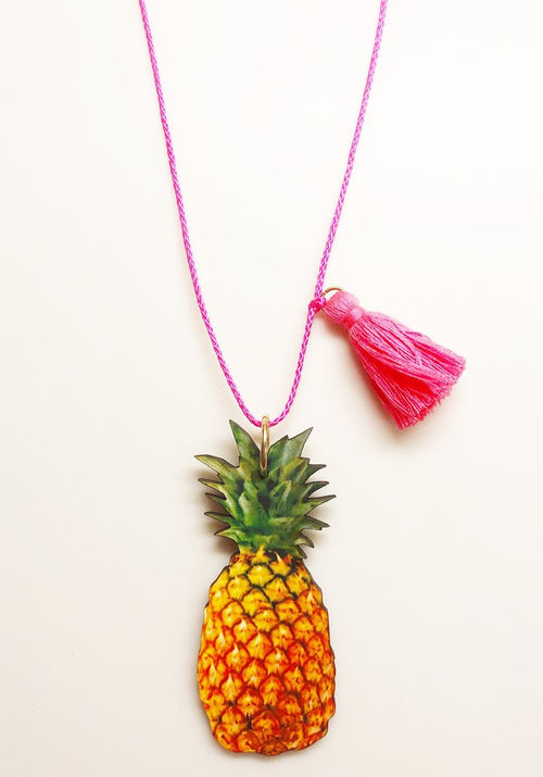 Gunner & Lux Necklace, Pineapple Love