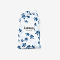 Lewis Burp Cloth Set Palm + Parsnip, Captain's Blue