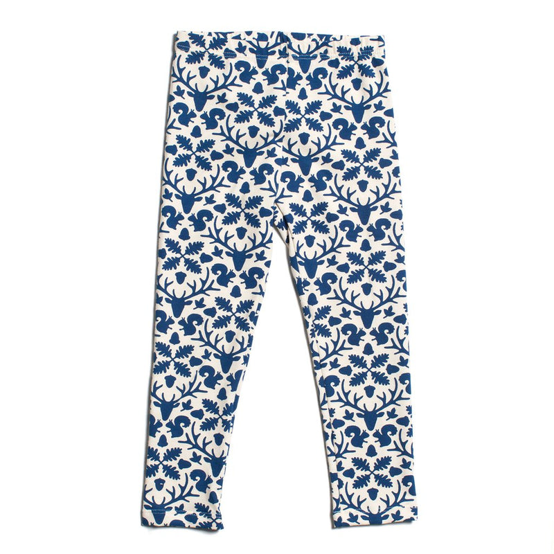 Winter Water Factory Leggings, Animal Kingdom Navy