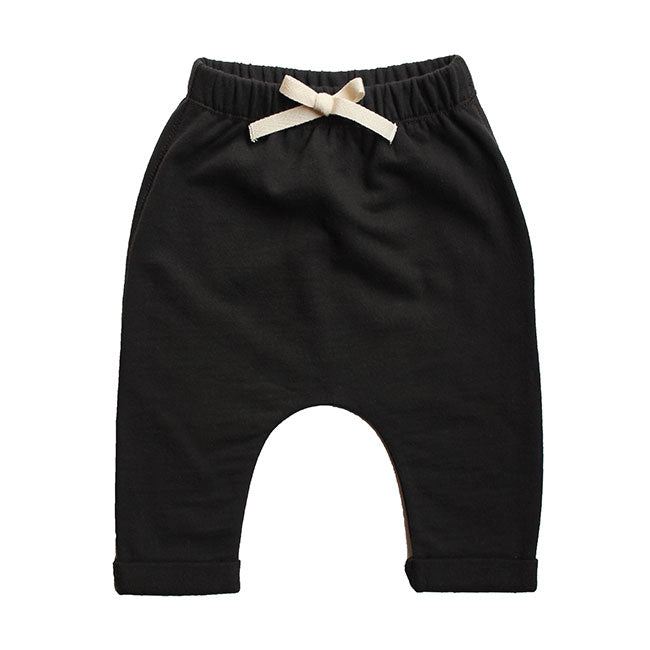 Gray Label Baby Pants, Nearly Black