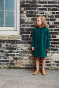 Mingo Brune Dress, Emerald