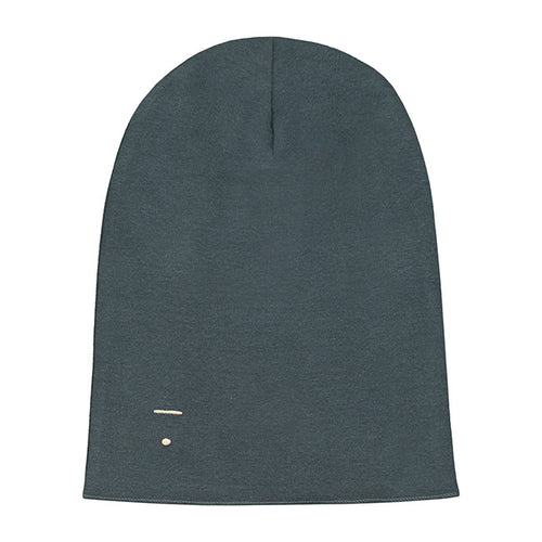 Gray Label Beanie, Blue Grey